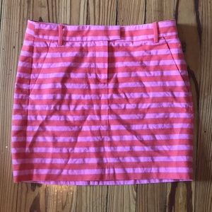 J.Crew Factory Striped Mini Skirt